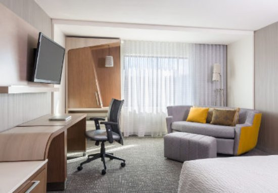 Our King Guest Room at Courtyard by Marriott Houston Northwest/Cypress