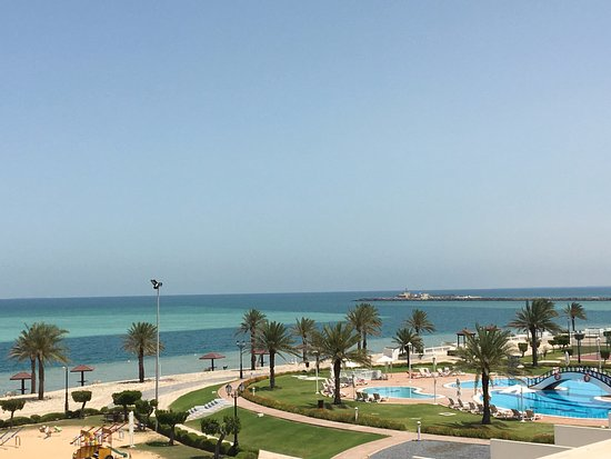 Mirfa, De forente arabiske emirater: Relaxing view...