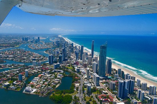 Guldkysten, Australien: Exploring The Gold Coast from above and under like never before. Seaway Water Bike Tours definit