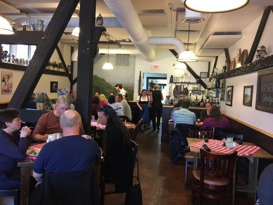Canandaigua, Νέα Υόρκη: Rheinblick - dining room