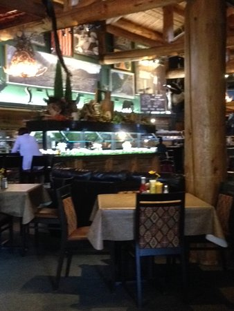 The Park Grill: Salad Bar