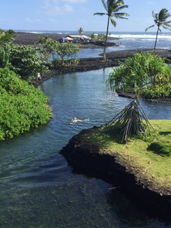 Pahoa, Havaí: View from Kapoho area house rental - amazing tide pools!