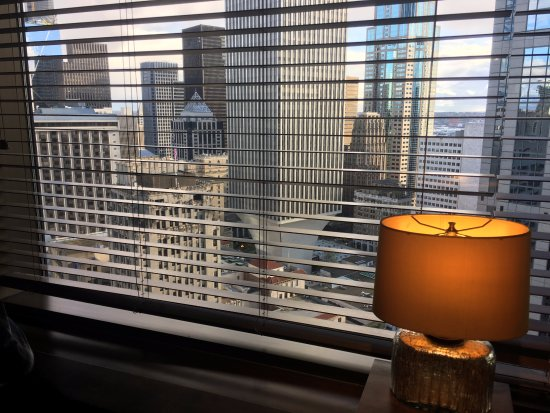 Sheraton Seattle Hotel: View from the Club Lounge.