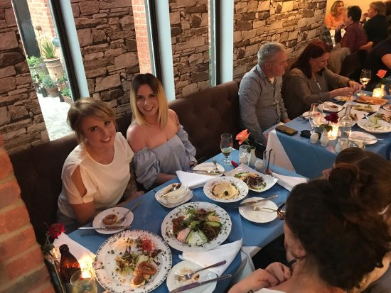 Newport Pagnell, UK: Some great moments from Capadocia restaurant