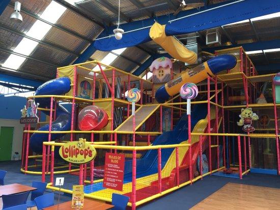 Croydon, Australia: Lollipops play centre and cafe