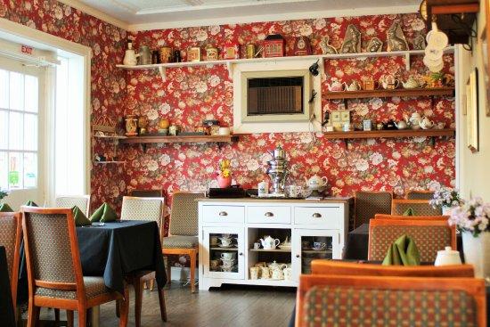 Port Hope, Canadá: On site Tea Room