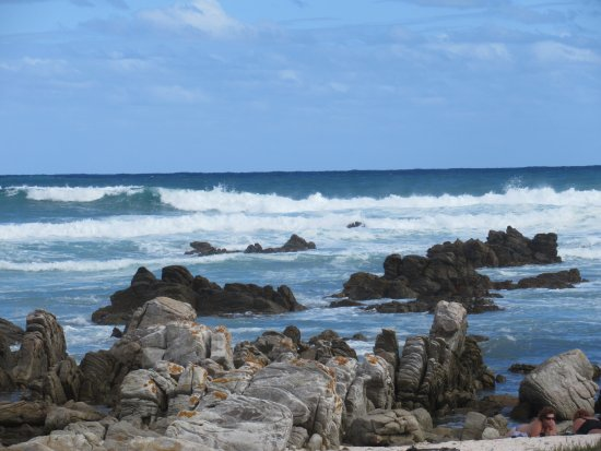 Cape Agulhas, Sudáfrica: view from the boardwalk