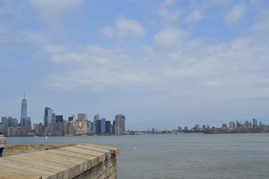 Liberty State Park: City view.