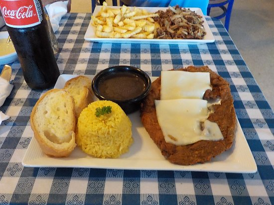Norcross, GA: Milanesa Steak with Swiss Cheese