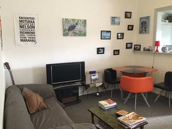 Wanganui, Nueva Zelanda: Communal living space