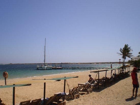 Isla Cubagua: Hermosa playa
