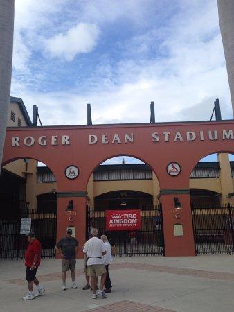 Welcome to Roger Dean Stadium in Jupiter, Florida