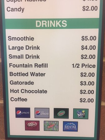 Westfield, IN: Yes, $4 for a drink