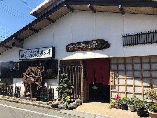 Tajimi, Japan: 味の店 うな千