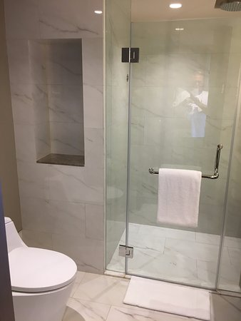 Shower and Toilet Picture of Bangkok Marriott Marquis Queens