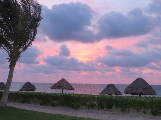 Ocean Coral & Turquesa: levé du soleil