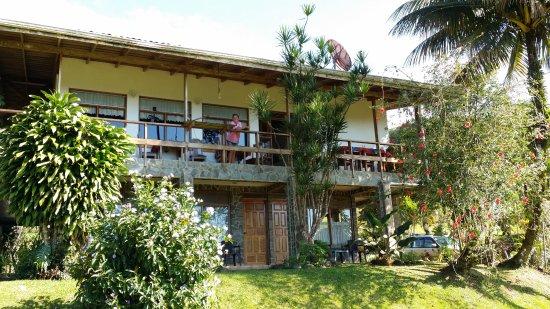 Nuevo Arenal, Costa Rica: Terrasse
