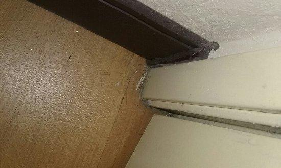 Southborough, MA: Room #245 behind bathroom door