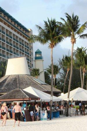 Saint Michael Parish, Barbados: Beautiful setting on Needham Pt. Popular hotel with families / children. International atmospher
