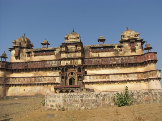 Grand Entrance Picture Of Jahangir Mahal Orchha