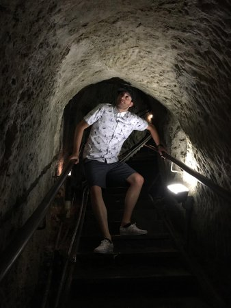 Sunny Jim Cave: Tall people must watch their head