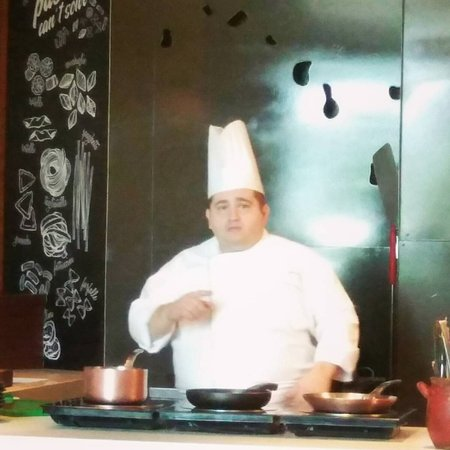 Chef Alessandro - master cooking class - Picture of The