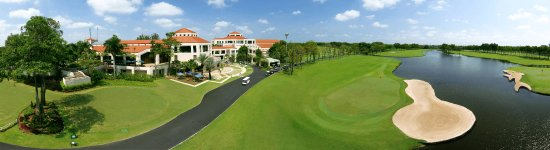 Bang Chalong, Tajlandia: Hole 9 Newly renovated with new green and layout