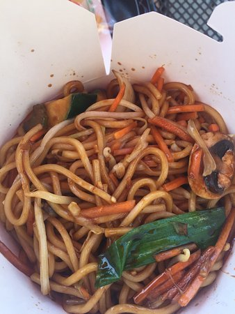 Lakewood, Californien: Vegetable chow mein