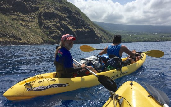 Adventures in Paradise Kayak & Snorkel: Mike and Kelani