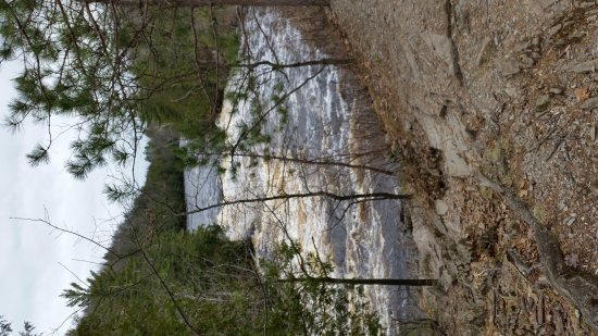 Michigan: Piers Gorge. End of April 2017.