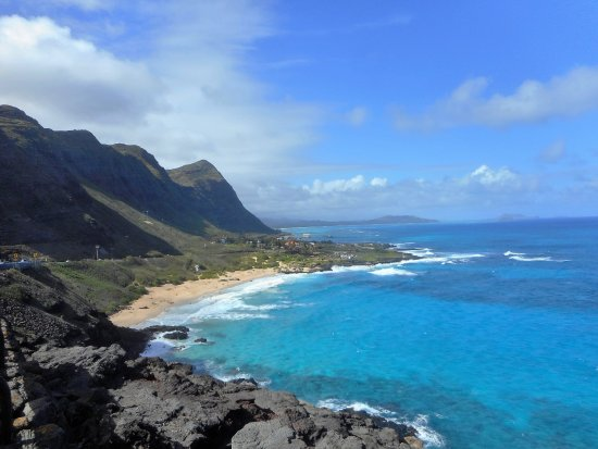 Makapu'u Point: Beach view