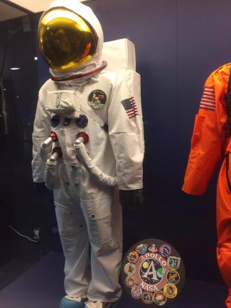 Stardome Observatory & Planetarium: One of the space suits exhibits