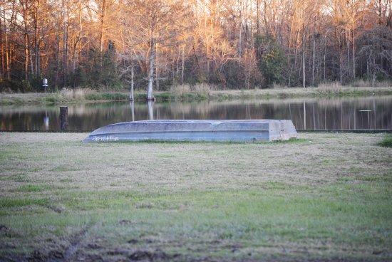 Eunice, Louisiane : A late fall morning around the lake