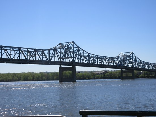 Murray Baker Bridge: View from Riverfront Village
