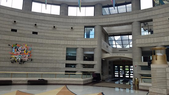 Charles H. Wright Museum of African American History : Main Rotunda
