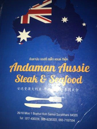 Andaman Steak and Seafood: photo0.jpg