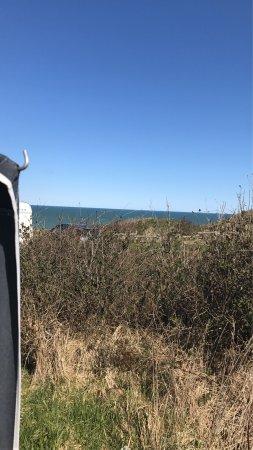 Fjerritslev, Denmark: Udsigt fra een af de dejlige pladser på Svinkløv camping