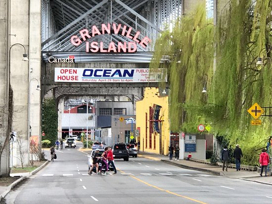 Photo of Tourist Attraction Granville Island Public Market at 1689 Johnston St., Vancouver V6H 3S3, Canada