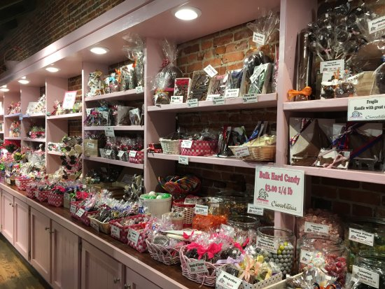 Grass Valley, CA: All kinds of unusual sweets to choose from