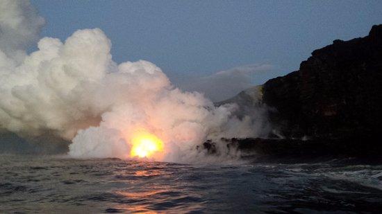 Pahoa, Hawái: Kilauea Lava Flow
