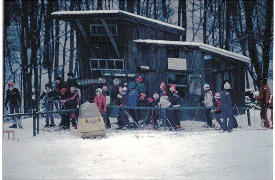 Klosterneuburg, Austria: Skilift Oberkirchbach ~1982
