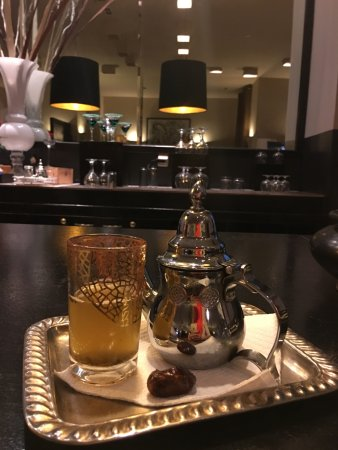 Golden Tulip Andalucia Golf Tangier: Tea at the hotel bar.