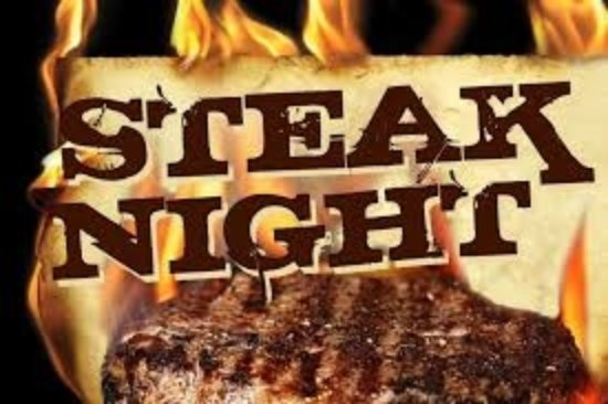 Shearwater, Australia: Thursday is Steak Night