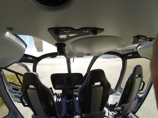 Sola Municipality, Norway: Helitrans EC130T2 Eco star backseat view