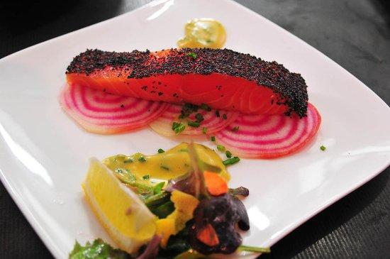 SY La Terrasse : saumon gravlax