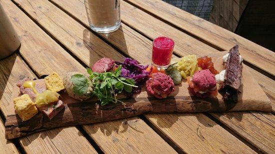 Callander, UK: Beautiful sharing dish