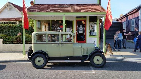 Sheffield, ออสเตรเลีย: The Apple Tree Cafe