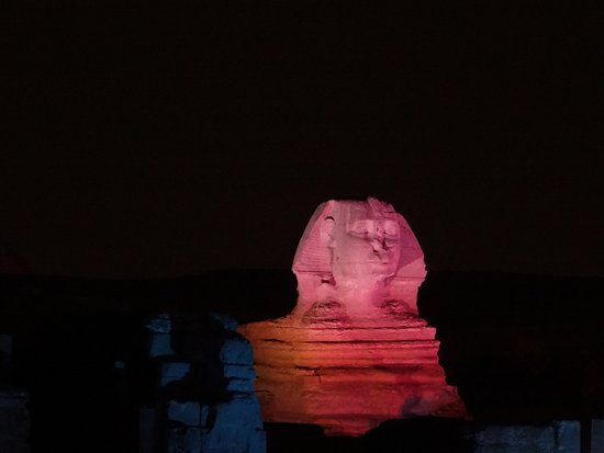 Habibitours - Day Tours : Sphinx at the light show
