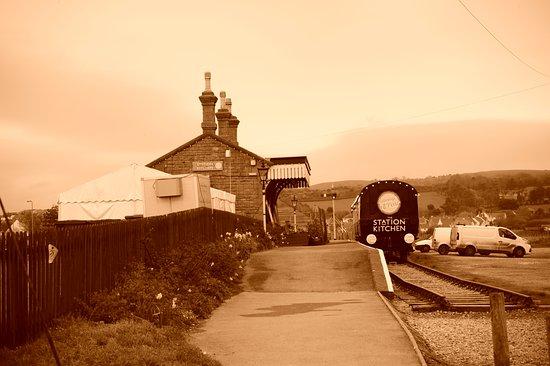 Station Kitchen, West Bayy, Dorset.