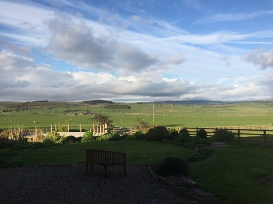 Otterburn, UK: view from the bedroom